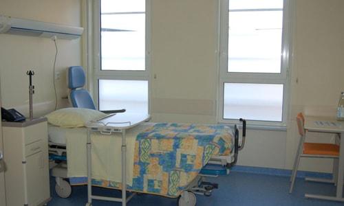 Chambre hôpital Albert Schweitzer à Colmar