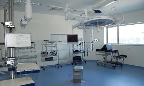 Salle d'opération hôpital Albert Schweitzer à Colmar